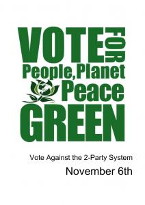 Vote Green (green)