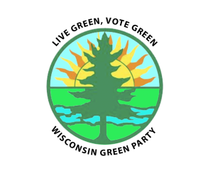 Wisconsin Green Party Logo (transparent)